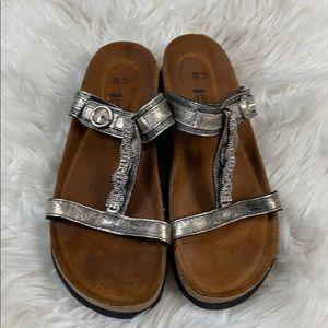 NAOT Footbed Sandals sz 38 Jeweled # box 46